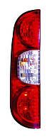 Фонарь задний левый Fiat Doblo I (рестайлинг) 2005 - 2009 с платой, (Magneti Marelli, 712201201110) OE 51755145 - шт.