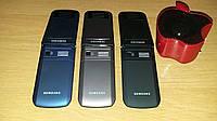 Раскладушка Samsung F688 на 2 сим-карты  с сенсорным экраном +колонка в подарок