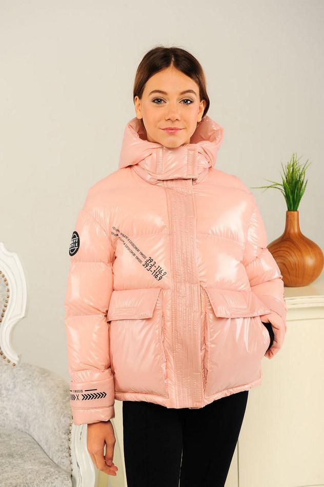 Весенняя короткая куртка для девочки (расцветки в ассортименте) р-ры 134,140,146,152,158