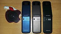 Раскладушка Samsung с сенсорным экраном  F688 на 2 сим-карты +колонка в подарок