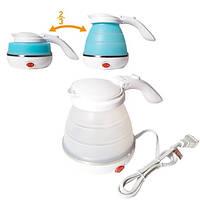 Складной дорожный электрочайник Foldable kettle 500 мл
