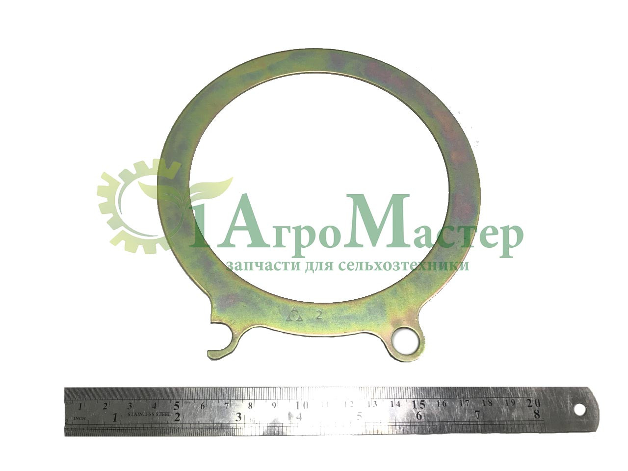 Кольцо газового стыка (сталь 1,50 мм) (240-1003217) ЯМЗ-240БМ2, -ПМ2, -НМ2