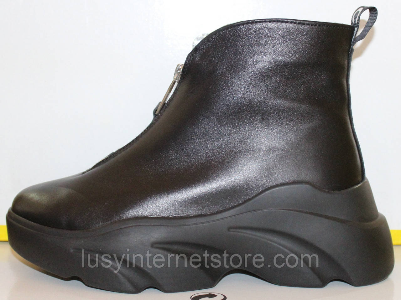 Ботинки женские демисезонные кожаные от производителя модель КА100