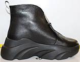 Ботинки женские демисезонные кожаные от производителя модель КА100, фото 3