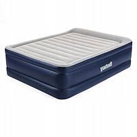 Надувная велюр кровать 67690 Bestway 203-152-61см, со встроенным электронасосом