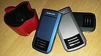 Телефон раскладушка Самсунг дуос F688 на 2 сим-карты с сенсорным экраном +колонка в подарок