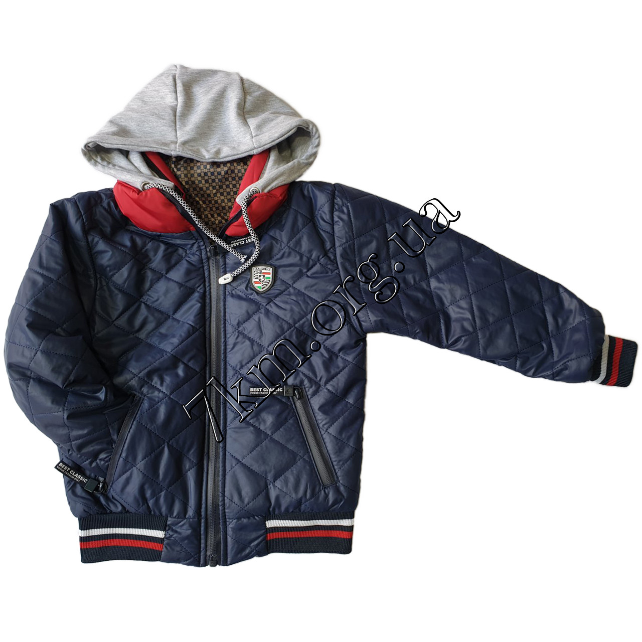 Куртка детская оптом для мальчиков 1-5 лет 210101-4
