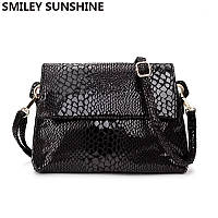 Маленькая женская сумка модная черная