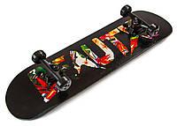 Скейт для трюков - SK8 - BEAUTX скейтборд трюковой