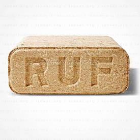 Брикеты (RUF) Руф березовые паллета (960 кг). АКЦИЯ! Лучина для розжига в подарок!