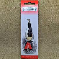 Блесна Spinnex Atom 14g серебро (limited)