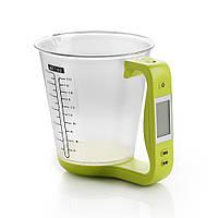 Весы электронные кухонные с мерным стаканом