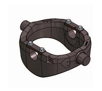 Опорная рама для подкузовного цилиндра UM 129-PIN50-D45 без пневмоограничителя и кронштейнов