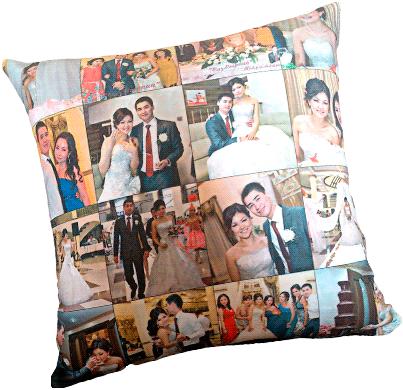 Подушка фото колладж