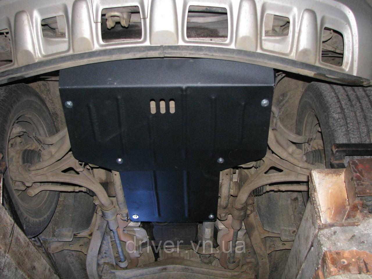 Захист двигуна MERCEDES-BENZ M-CLASS W163 1997-2005 (двигун+КПП+радіатор)