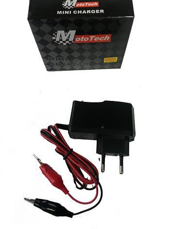 Зарядне для аккумулятора 12V Mototech, фото 2