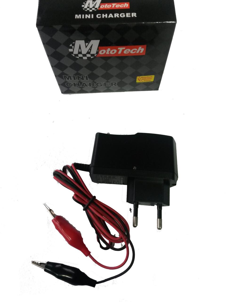 Зарядне для аккумулятора 12V Mototech