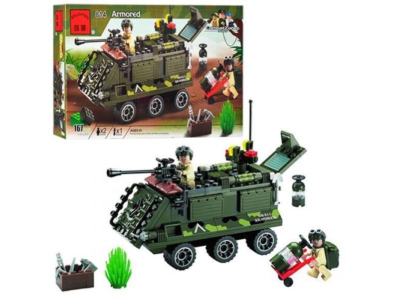 Конструктор BRICK 814 броневик