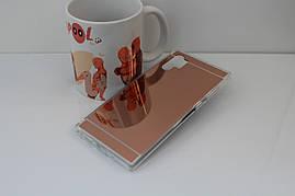 Чехол Mirror case для Samsung Galaxy Note 10 Plus (N975) силикон зеркальный розовое золото