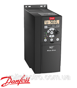 Частотний перетворювач Danfoss VLT Micro Drive 132F0026 - 4 кВт, 3 x 380В, А 9.0