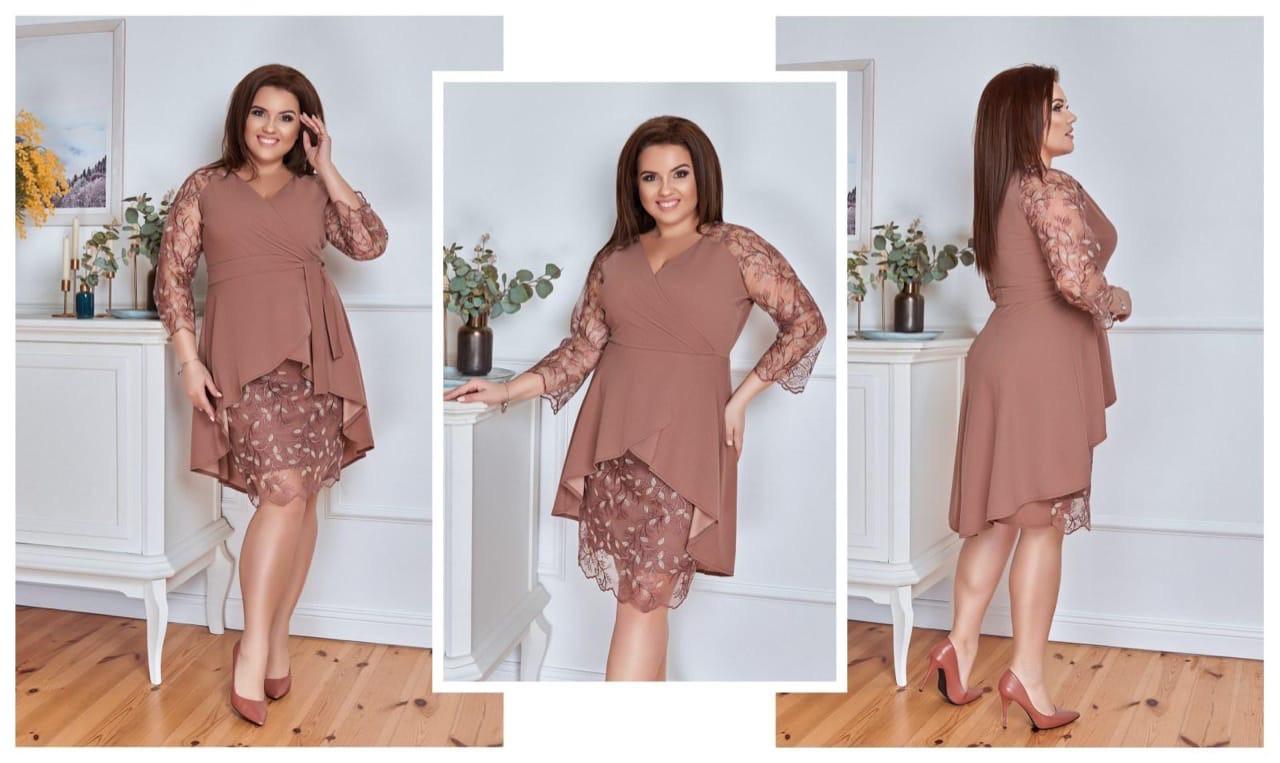 Платье женское 2749вл батал