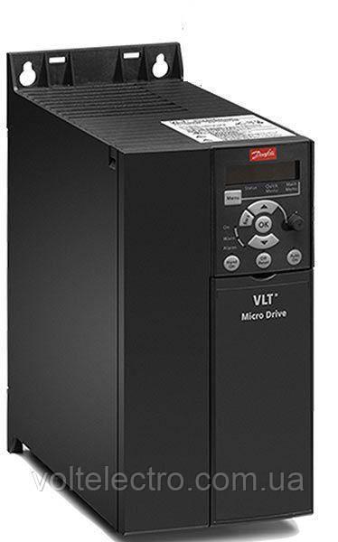 Частотный преобразователь Danfoss VLT Micro Drive 132F0030 - 7,5 кВт, 3 x 380В, 15.5 А
