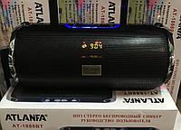 Портативная bluetooth колонка с лучшим звуком, с лучшим приемом радио ATLANFA AT-1888