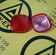 Линза - стекло фонаря (красное) на JCB 700/50072