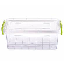Контейнер для еды Ал-пластик  ELIT №2 объём 2.2 л  с ручками
