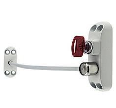 Замок Безопасности Оконный Блокиратор Створки Окна Детский Замок с Тросиком BSL CABLE PRIME (Baby Safe Lock)