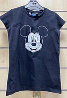 Футболка для девочек Disney оптом, 10/11-13/14 лет. Артикул: 03087