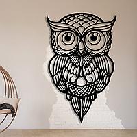 Картина из дерева Owl 55х35см