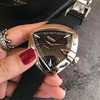 Hamilton Ventura Silver-Black Automatic
