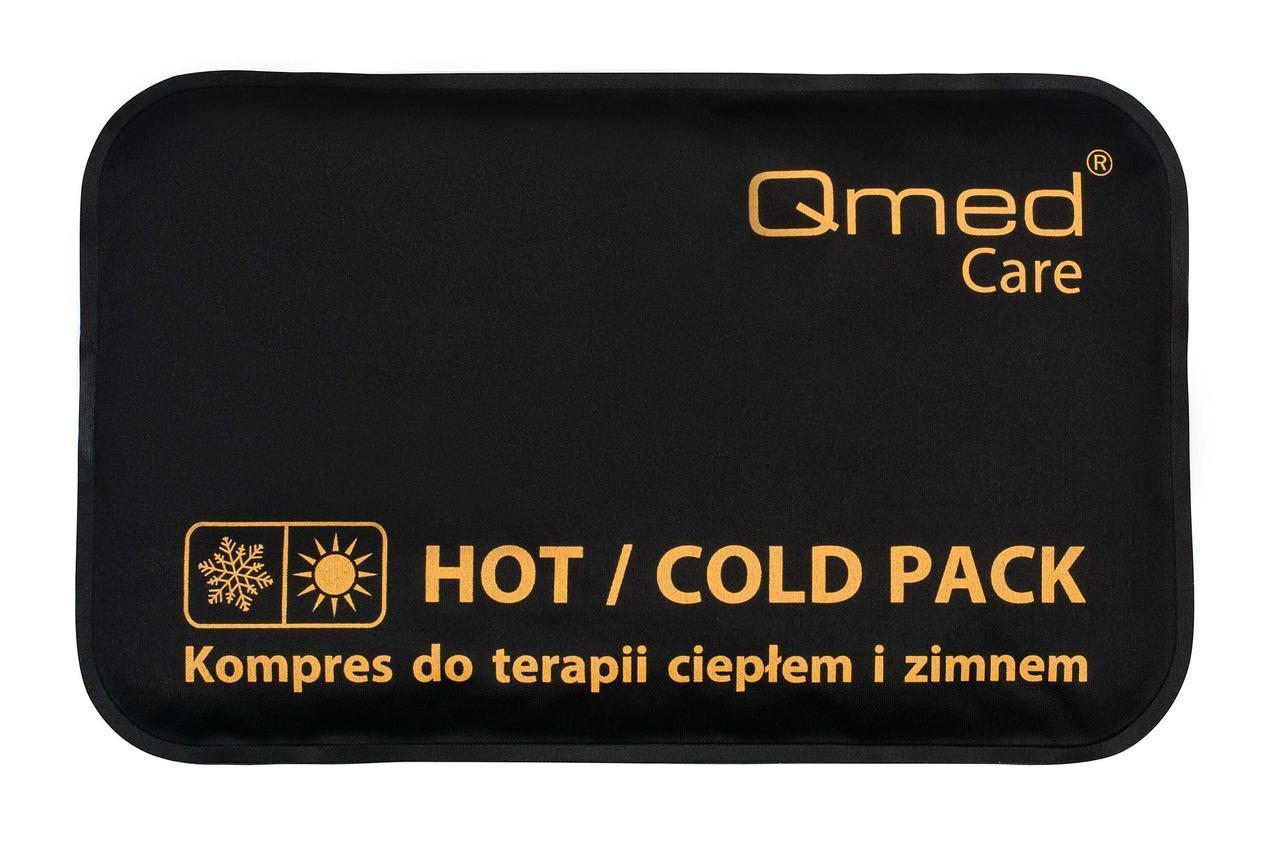 Компресc гелевый для теплой и холодной терапии Qmed Hot Cold Pack 10 см х 15 см