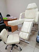 Кушетка косметологическая 240 + стул мастера педикюра