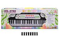 Синтезатор с микрофоном  Music 37 клавиш