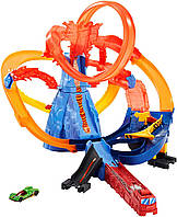 Hot Wheels Трек Хот Вилс Вулкан побег из вулкана  ( Hot Wheels City Volcano Escape  Play Set)