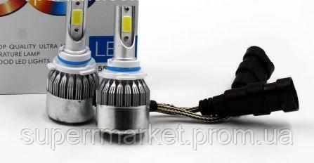 C6++ 9006 Автомобильные светодиодные Лед LED лампы в фары противотуманки, фото 2