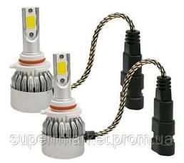 C6++ 9006 Автомобильные светодиодные Лед LED лампы в фары противотуманки, фото 3