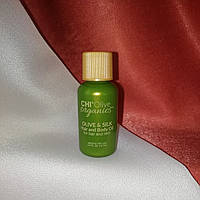 CHI Olive Organics Olive & Silk Hair Oil 15 ml  Шелковое масло с оливой