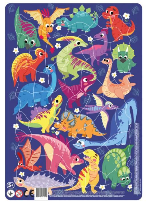 """Пазл DoDo в рамке """"Динозавры"""" R300181"""