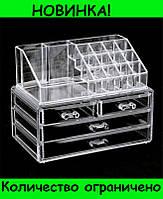 Sale! Акриловый органайзер для косметики Cosmetic Storage Box!Розница и Опт, фото 1
