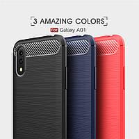 TPU чехол накладка Urban для Samsung Galaxy A01 (3 цвета), фото 1