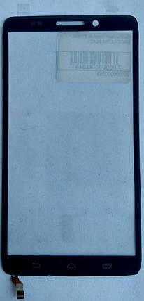 Сенсор (тачскрін) для Motorola XT1080 Droid Ultra чорний, фото 2