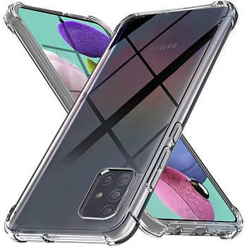 TPU чехол Epic Ease с усиленными углами для Samsung Galaxy A51