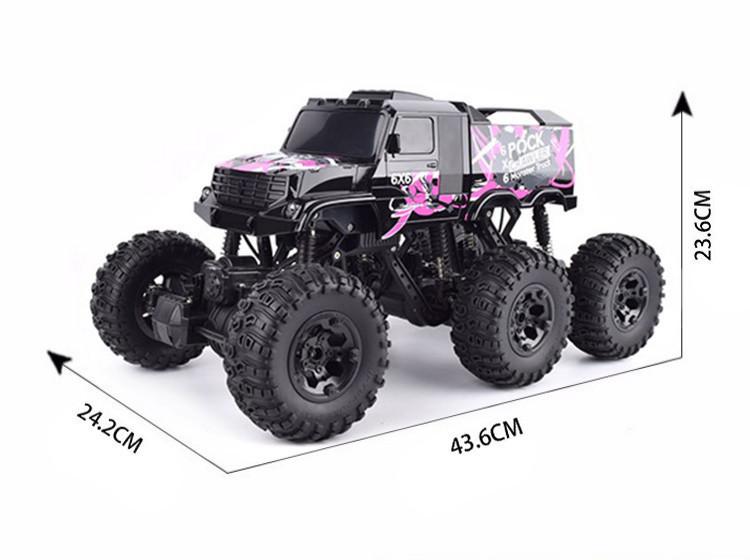 Джип 26612Bp Rock Crawler 1:8 (Розовый) р/у 2,4GHz