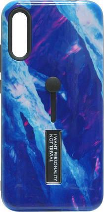 Накладка SA A205/A305 blue Marble Hold, фото 2