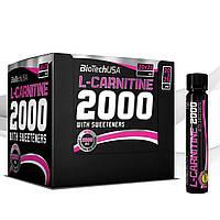 Жиросжигатель Biotech L-Carnitine ampule 2000 25ml*20