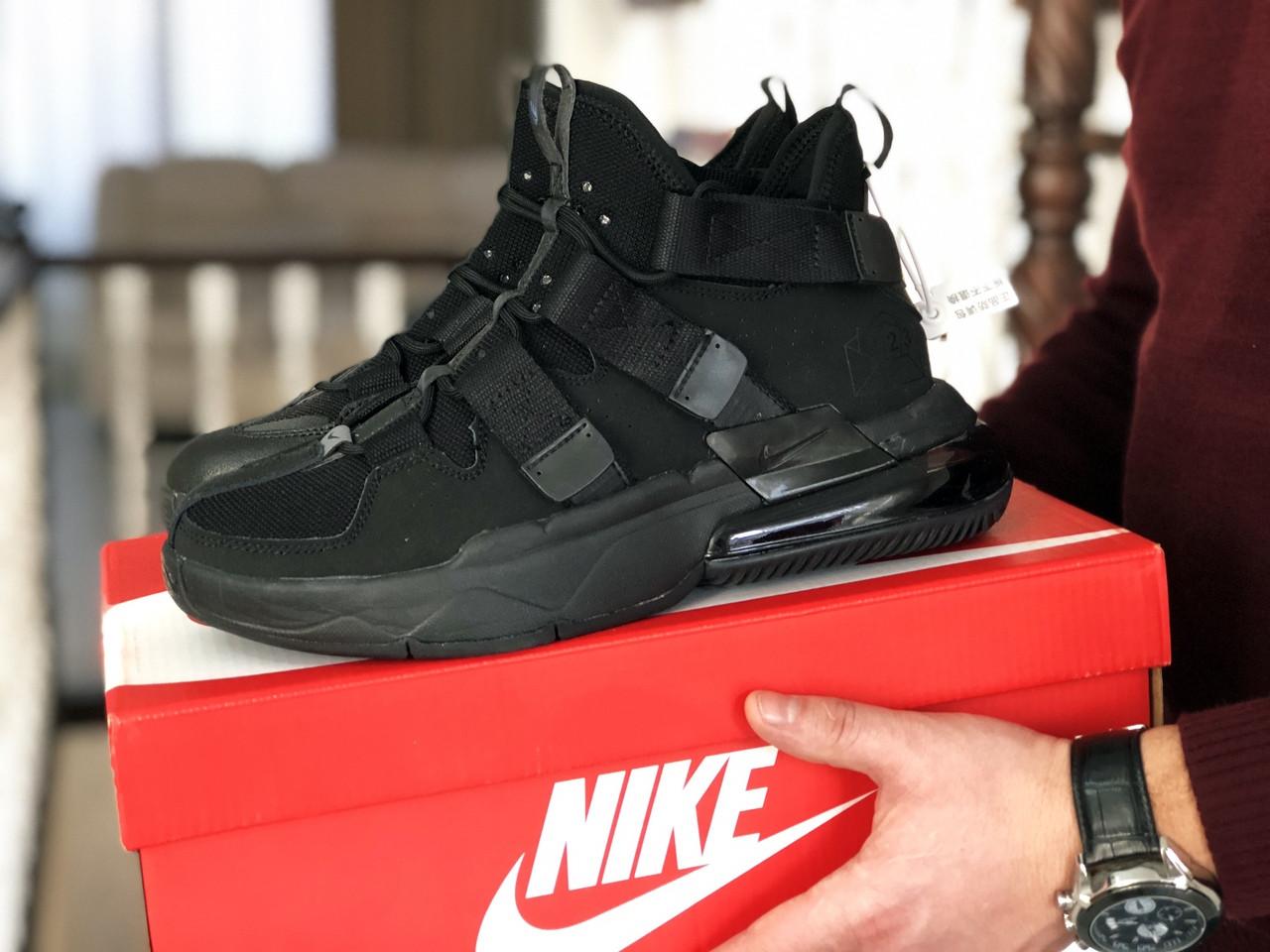 Мужские Кросcовки Nike  Air Force 270 черные