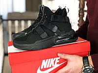 Мужские Кросcовки Nike  Air Force 270 черные, фото 1